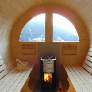 Hotel Garni La Stua - Una sauna nel cuore delle Dolomiti -  A sauna in the heart of the Dolomites